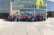 Campbellsburg Elementary 5th Graders Visit Northern Kentucky University