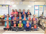 Eminence Rotary Club - Donates Dictionaries to Eastern Elementary 3rd Grade Students