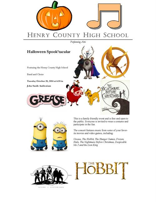 Halloween Spook'tacular at Henry County High School