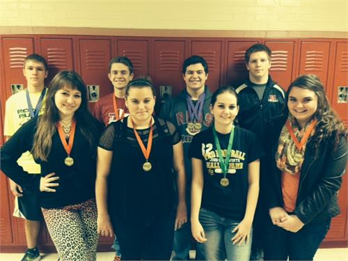 HCHS Academic Team Qualify for Regionals